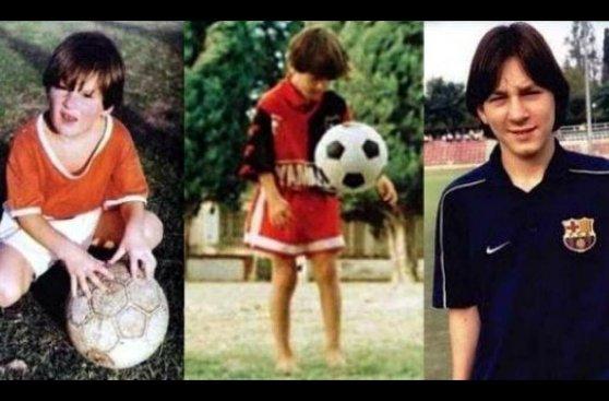 Lionel Messi: repaso a sus cambios de 'look' en 28 años (FOTOS)