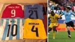 Copa América: jugador de Jamaica orgulloso de sus 'trofeos' - Noticias de hinchas famosos