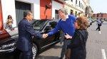 Humala llegó caminando a ceremonia del Tribunal Constitucional - Noticias de satipo