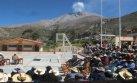 Moquegua: el volcán Ubinas registró una potente explosión