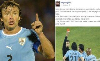 """Diego Lugano en Facebook: """"Con ese Jarita habrá que 'hablar'"""""""