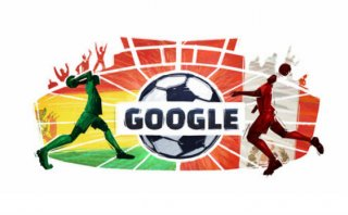 Google: Perú y Bolivia en el doodle de la Copa América