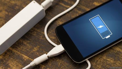 Gran parte de la vida de la batería se consume en el uso de la pantalla de inicio