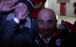 Así celebró Chile su pase a semifinales [VIDEO]