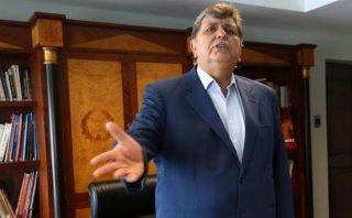 Alan García: Subcomisión verá denuncia en su contra