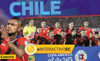 Copa América: así es Chile, el rival de Perú en la semifinal