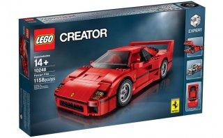 Lego lanza al mercado su versión del Ferrari F40