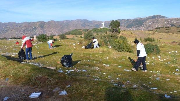 Inti Raymi: recogieron 80 toneladas de basura en Sacsayhuamán