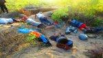 Detienen a cinco sujetos profanando antiguo cementerio Mochica - Noticias de chiclayo