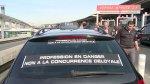 Francia: Protestas de taxistas por UberPOP [VIDEO] - Noticias de estación de bomberos