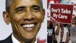"""Obama celebra: """"El 'Obamacare' está aquí para quedarse"""" - Noticias de nancy pelosi"""