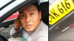 Mujer graba a taxista que la atropelló por ir en contra [VIDEO] - Noticias de accidente de transito