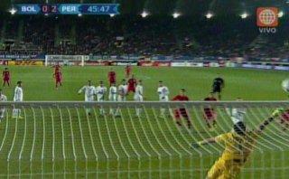 Jefferson Farfán: travesaño evitó golazo de tiro libre (VIDEO)