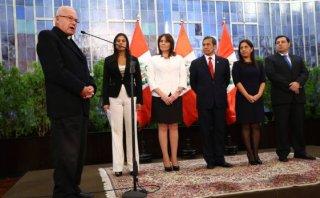 Bambarén defiende a Ollanta Humala y Nadine Heredia de críticas