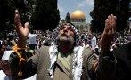Rezo masivo en Jerusalén por el Ramadán [VIDEO]