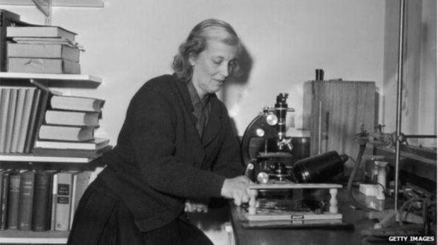 Dorothy Hodgkin, el