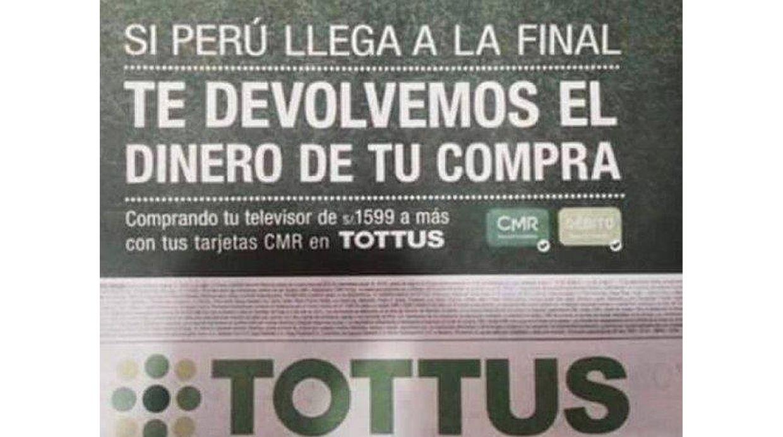 """[Foto] Tottus: """"Estamos listos para devolver más de S/.1 millón"""""""