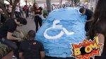 Así se hizo el castigo por estacionar en zona de discapacitados - Noticias de vehículos mal estacionados