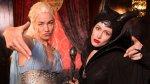 YouTube: Daenerys y Maléfica se insultaron en batalla de rap - Noticias de yvonne strahovski
