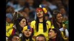 Argentina vs. Colombia: belleza cafetera en tribunas (FOTOS) - Noticias de mar de copas