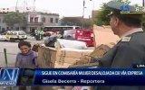 Vía Expresa: anciana desalojada aún no es llevada a un albergue