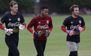 Así entrenaron los arqueros de Perú pensando en Chile [VIDEOS]