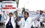 Médicos de Essalud acatarán paro de 24 horas este 8 de julio