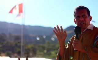 Ollanta Humala en caída: aprobación del presidente bajó a 10%