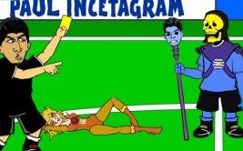 Animación se burla de Gonzalo Jara y Edinson Cavani [VIDEO]