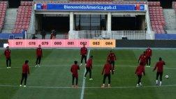 Selección peruana reconoció el Estadio Nacional de Santiago