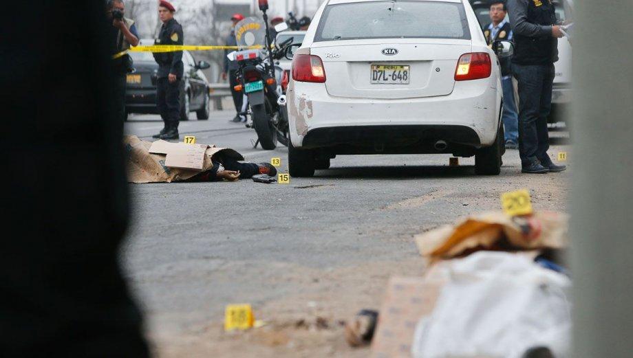 Balacera en Ramiro Prialé: fotos del incidente en El Agustino