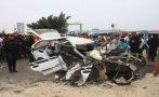 Piura: choque entre autos deja tres muertos y siete heridos
