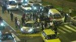Surco: combi causó triple choque que dejó doce heridos - Noticias de papeletas de tránsito