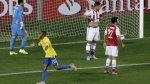Robinho puso adelante a Brasil tras buena jugada colectiva - Noticias de real madrid