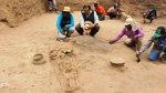Lambayeque: hallan 14 tumbas pre incas y un templo Mochica - Noticias de cultura lambayeque