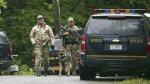 Nueva York: Así cayó el segundo asesino que fugó de prisión - Noticias de herido de bala
