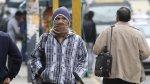 Senamhi: vientos fríos y descenso de temperatura desde hoy - Noticias de amanecer