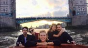 Taylor Swift, Calvin Harris y Joe Jonas de paseo en Londres
