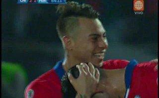 Perú vs. Chile: golazo de Eduardo Vargas para el 2-1 de locales