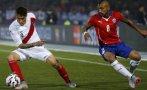 Perú perdió de pie 2-1 ante Chile y jugará por tercer lugar