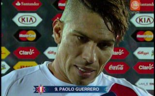 "Paolo Guerrero: ""Once contra once hubiera sido distinto"""