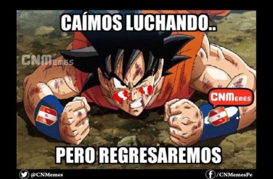 Los memes de la derrota de Perú apuntan a Carlos Zambrano
