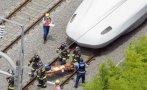 Un pasajero muere tras prenderse fuego en el tren bala en Japón