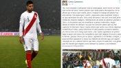 Lee el nuevo mensaje de Carlos Zambrano vía Facebook