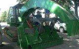 Crean cosechadora que quita arbusto dañino para los cultivos