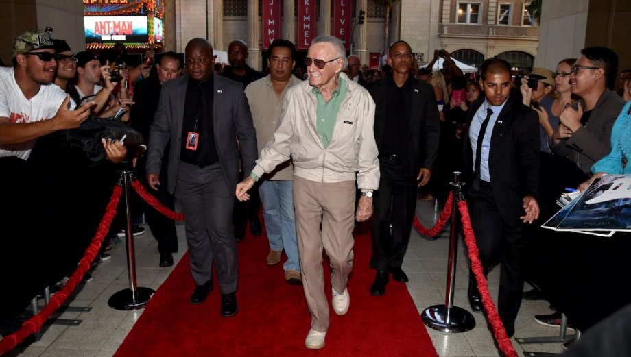 """Ant-Man"": Stan Lee, Paul Rudd y Michael Douglas en la premiere"