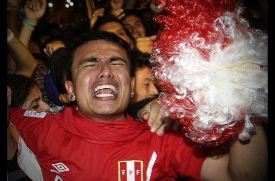 Así se vivió en Lima la derrota ante Chile (FOTOS)