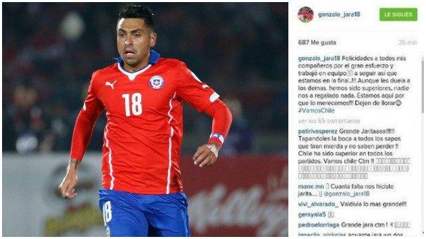En Chile aseguran que Jara no tiene Instagram. (Foto: Reuters)