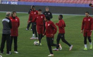 Selección peruana entrenó sin Jefferson Farfán en Santiago