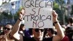 Miles de griegos dicen